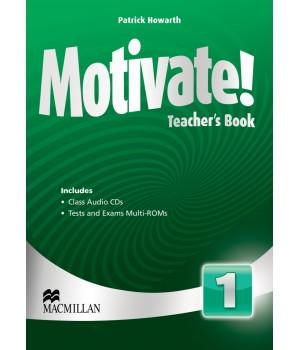 Книга для вчителя Motivate! 1 (Beginner) Teacher's Book + Class Audio CDs