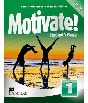 Підручник Motivate! 1 (Beginner) Student's Book + DVD-ROM