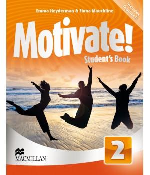 Учебник Motivate! 2 (Elementary) Student's Book + DVD-ROM