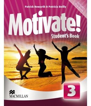 Підручник Motivate! 3 (Elementary) Student's Book + DVD-ROM