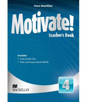 Книга для вчителя Motivate! 4 (Intermediate) Teacher's Book + Class Audio CDs