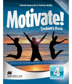 Учебник Motivate! 4 (Intermediate) Student's Book + DVD-ROM
