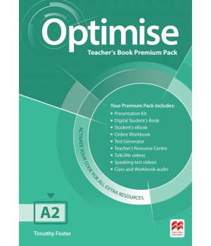 Книга для учителя Optimise A2 Teacher's Book Premium Pack