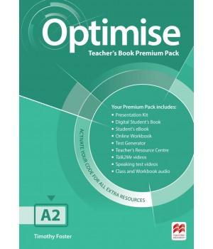 Книга для вчителя Optimise A2 Teacher's Book Premium Pack