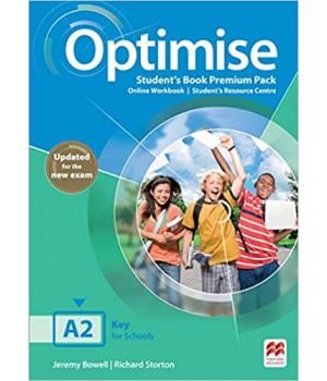 Підручник Optimise A2 Student's Book Premium Pack