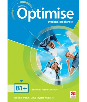 Учебник Optimise B1+ Student's Book Pack