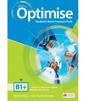 Учебник Optimise B1+ Student's Book Premium Pack