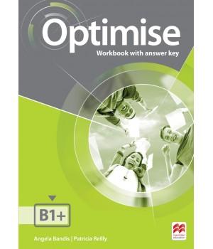 Рабочая тетрадь Optimise B1+ Workbook with key