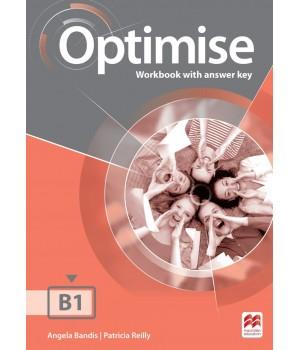 Рабочая тетрадь Optimise B1 Workbook with key