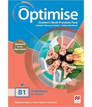 Підручник Optimise B1 Student's Book Premium Pack
