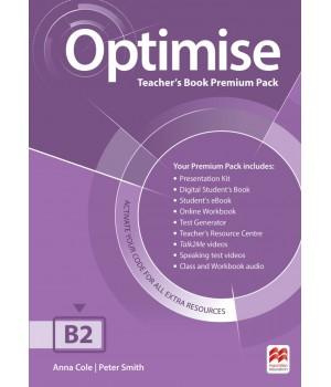 Книга для вчителя Optimise B2 Teacher's Book Premium Pack