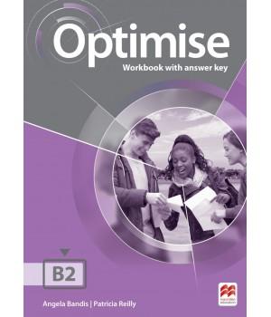 Рабочая тетрадь Optimise B2 Workbook with key