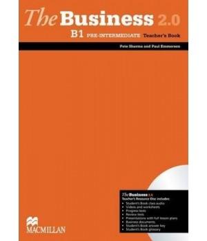 Книга для вчителя The Business 2.0 Pre-Intermediate B1 Teacher's Book + Resource Disc