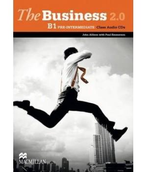 Диски The Business 2.0 Pre-Intermediate B1 Class Audio CD