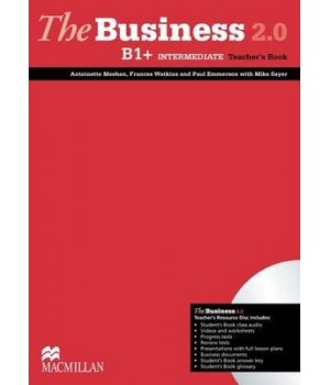 Книга для вчителя The Business 2.0 Intermediate B1+ Teacher's Book + Resource Disc