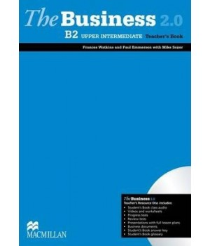 Книга для вчителя The Business 2.0 Upper Intermediate B2 Teacher's Book + Resource Disc