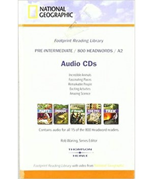 Книга для читання Footprint Reading Library (level A2 — 800 headwords) Audio CD for 15 titles