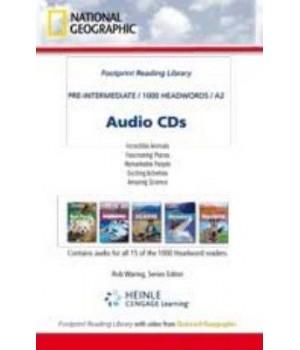 Книга для чтения Footprint Reading Library (level A2 — 1000 headwords) Audio CD for 15 titles