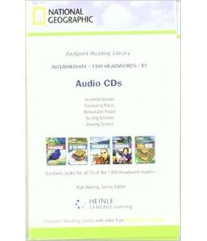 Книга для читання Footprint Reading Library (level B1 — 1300 headwords) Audio CD for 15 titles