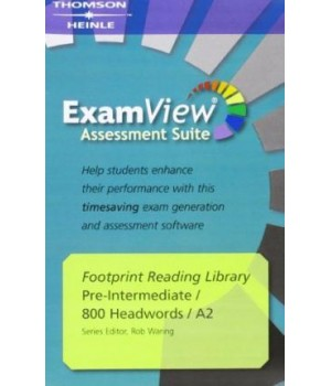 Диск Footprint Reading Library (level A2 — 800 headwords) ExamView CD-ROM