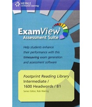 Диск Footprint Reading Library (level B1 — 1600 headwords) ExamView CD-ROM