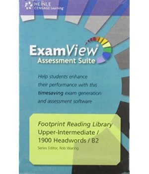 Диск Footprint Reading Library (level B2 — 1900 headwords) ExamView CD-ROM