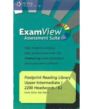 Диск Footprint Reading Library (level B2 — 2200 headwords) ExamView CD-ROM