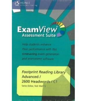 Диск Footprint Reading Library (level C1 — 2600 headwords) ExamView CD-ROM