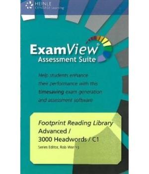 Диск Footprint Reading Library (level C1 — 3000 headwords) ExamView CD-ROM