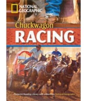Книга для читання Chuckwagon Racing (level B2 — 1900 headwords) Reader with Multi-ROM