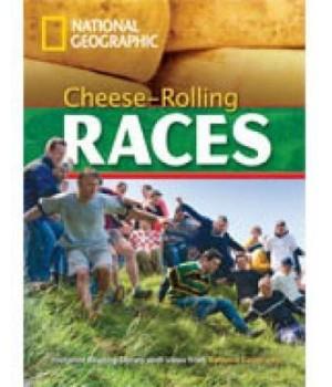 Книга для читання Cheese-Rolling Races(level A2 — 1000 headwords) Reader with Multi-ROM