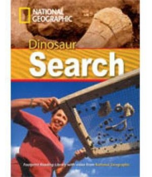 Книга для читання Dinosaur Search (level A2 — 1000 headwords) Reader with Multi-ROM