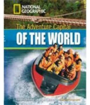 Книга для читання Adventure Capital of the World (level B1 — 1300 headwords) Reader with Multi-ROM