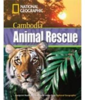 Книга для читання Cambodia Animal Rescue (level B1 — 1300 headwords) Reader with Multi-ROM