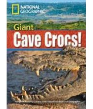 Книга для читання Giant Cave Crocs! (level B2 — 1900 headwords) Reader with Multi-ROM