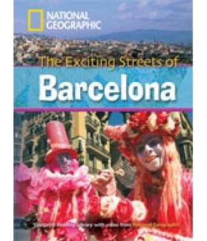 Книга для читання Exciting Streets of Barcelona (level C1 — 2600 headwords) Reader with Multi-ROM