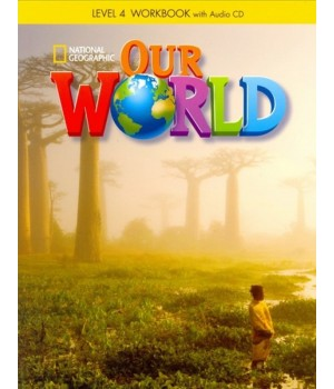 Робочий зошит Our World 4 Workbook with Audio CD