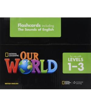 Картки Our World 1-3 Flashcard Set
