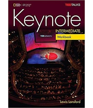 Робочий зошит Keynote Intermediate Workbook with Audio CDs