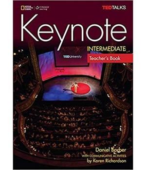 Книга для вчителя Keynote Intermediate Teacher's Book with Audio CDs