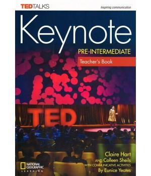 Книга для вчителя Keynote Pre-Intermediate Teacher's Book with Audio CDs