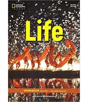 Робочий зошит Life 2nd Edition Beginner Workbook with Key and Audio CD