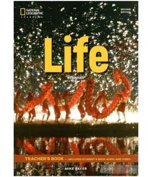 Книга для вчителя Life 2nd Edition Beginner Teacher's Book includes SB Audio CD and DVD