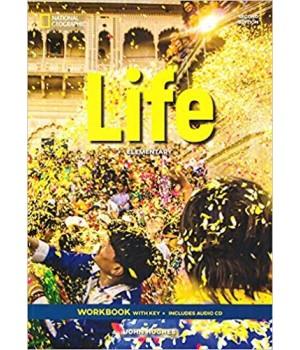 Робочий зошит Life 2nd Edition Elementary Workbook with Key and Audio CD