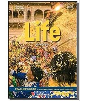 Книга для вчителя Life 2nd Edition Elementary Teacher's Book includes SB Audio CD and DVD
