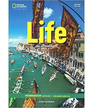 Робочий зошит Life 2nd Edition Pre-intermediate Workbook with Key and Audio CD