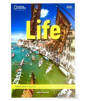 Книга для вчителя Life 2nd Edition Pre-intermediate Teacher's Book includes SB Audio CD and DVD