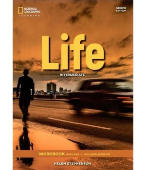 Робочий зошит Life 2nd Edition Intermediate Workbook with Key and Audio CD