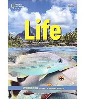 Робочий зошит Life 2nd Edition Upper-intermediate Workbook with Key and Audio CD