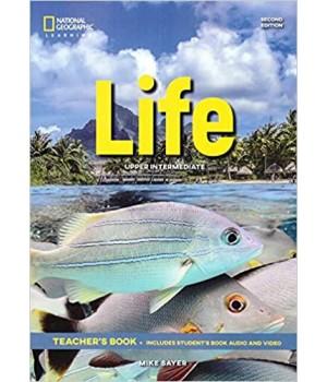 Книга для вчителя Life 2nd Edition Upper-intermediate Teacher's Book includes SB Audio CD and DVD